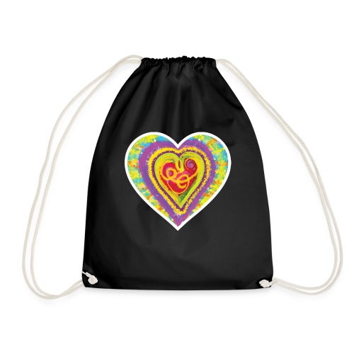 Life is a colorful circus - Drawstring Bag