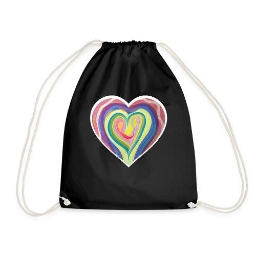 The art of love - Drawstring Bag