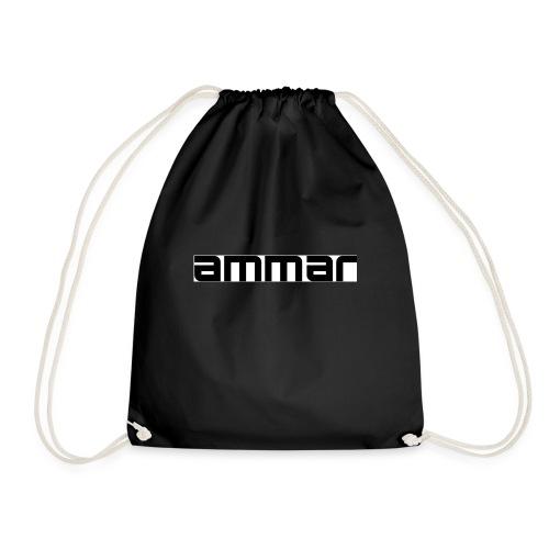 game on themed logo merchandise - Drawstring Bag
