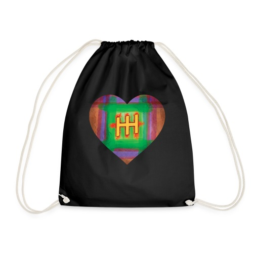 HH with a Heart - Drawstring Bag