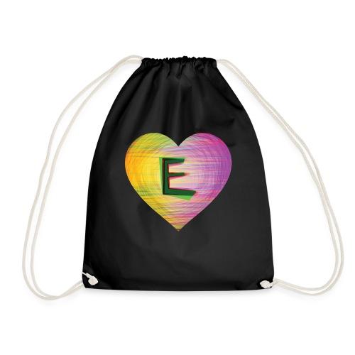 Extra E Name Design - Drawstring Bag