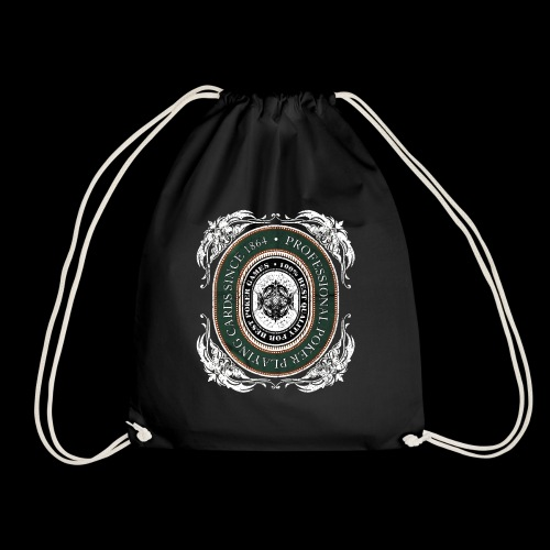 Poker Cards 1864 (oldstyle) - Drawstring Bag