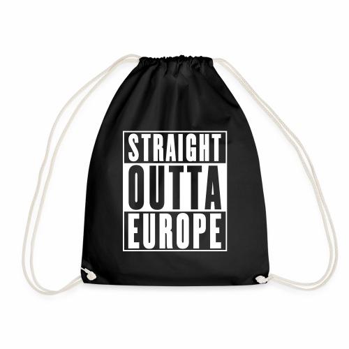 Straight Outta Europe - Drawstring Bag