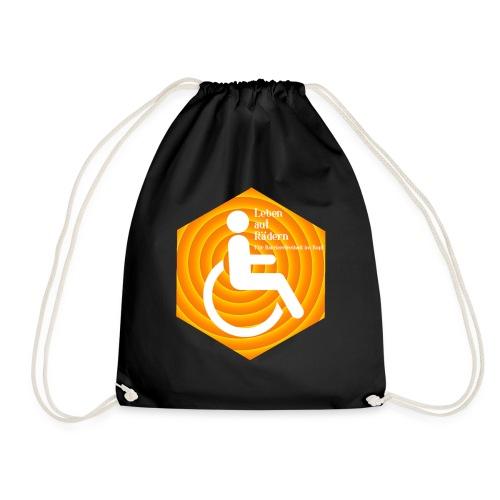 Logo Leben auf Rädern - Turnbeutel