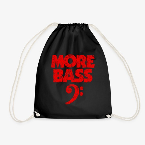 More Bass (Vintage/Rot) Bassisten - Turnbeutel