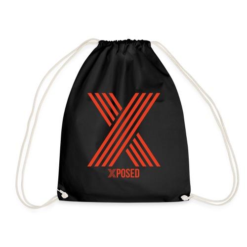Xposed Logo Orange Darker - Drawstring Bag