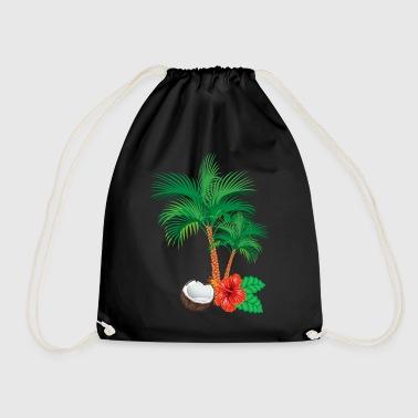Caribbean flair - Drawstring Bag
