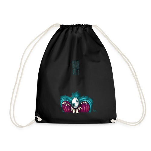 OneEyeTwoPupil [00110101] - Drawstring Bag