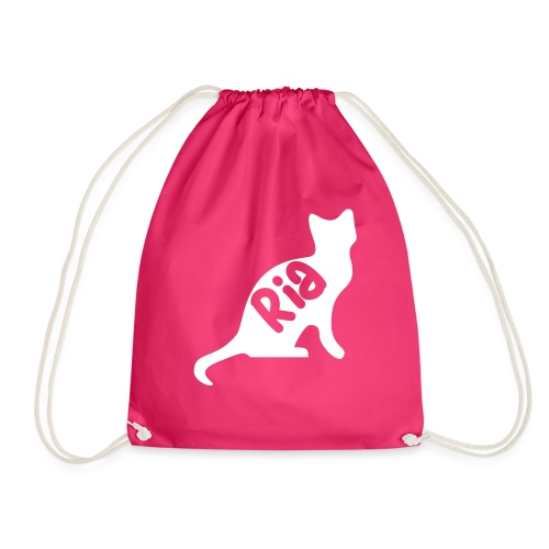 Team Ria Cat - Drawstring Bag