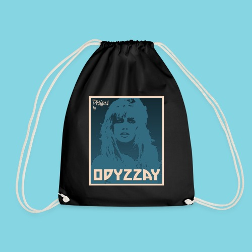 80's Girl Steel - Drawstring Bag