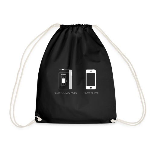 walkman analog - phone 1&0s - Drawstring Bag