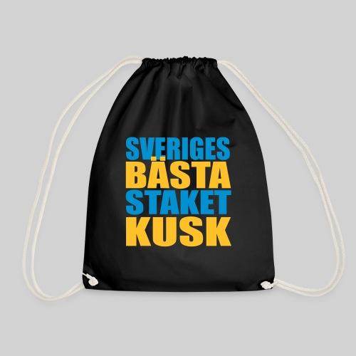 Sveriges bästa staketkusk! - Gymnastikpåse