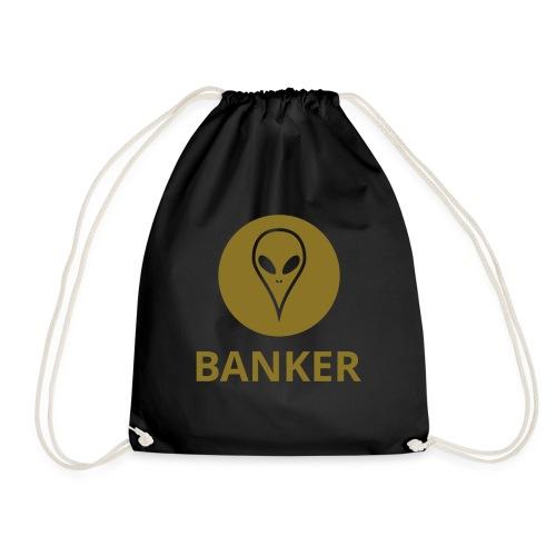 Alien Banker - Drawstring Bag