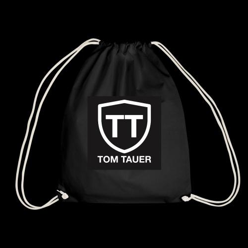 TOM TAUER Logo schwarz - Turnbeutel