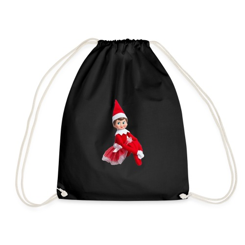 Christmas Elf - Drawstring Bag