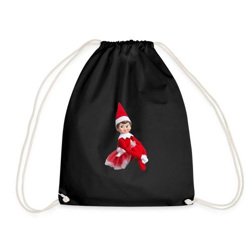 Christmas Elf - Drawstring Bag