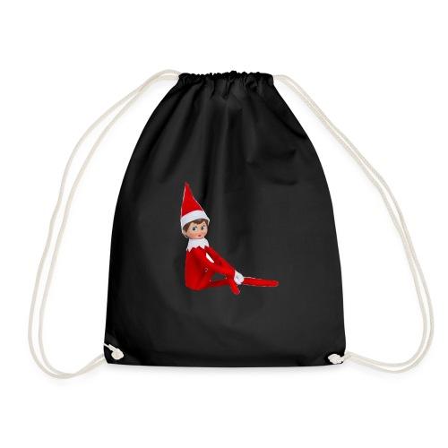 Elf on the Shelf - Drawstring Bag