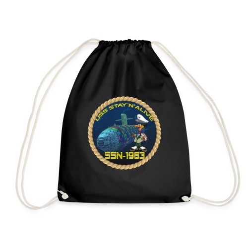 Command Badge SSN-1983 - Drawstring Bag