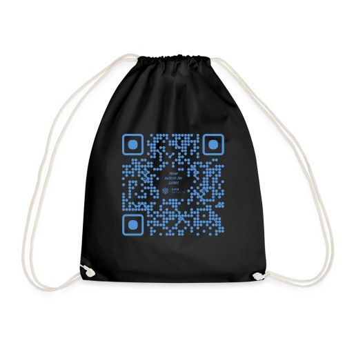 QR The New Internet Shouldn t Be Blockchain Based - Drawstring Bag