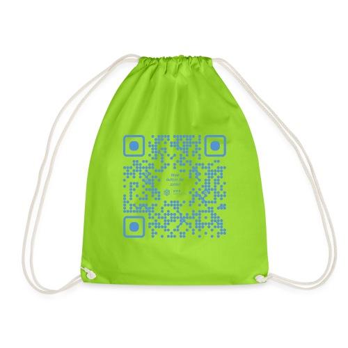 QR The New Internet Shouldn t Be Blockchain Based - Drawstring Bag