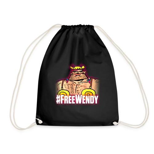 #FreeWendy - Drawstring Bag