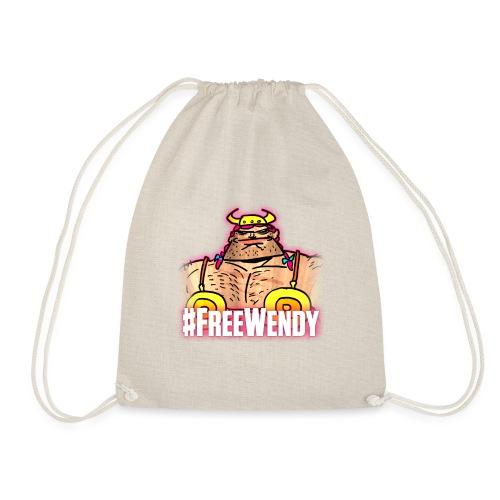 #FreeWendy - Drawstring Bag