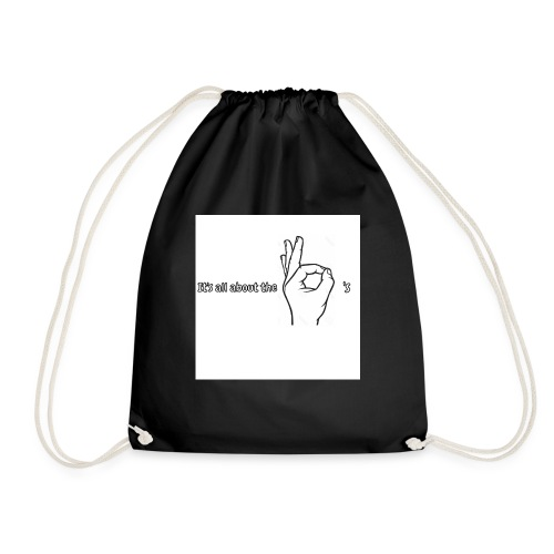 All about the - Drawstring Bag