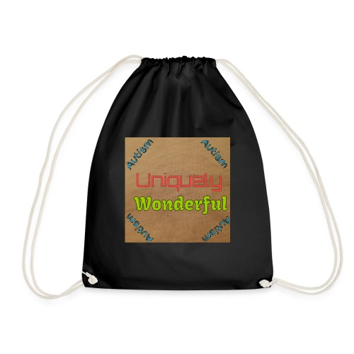 Autism statement - Drawstring Bag
