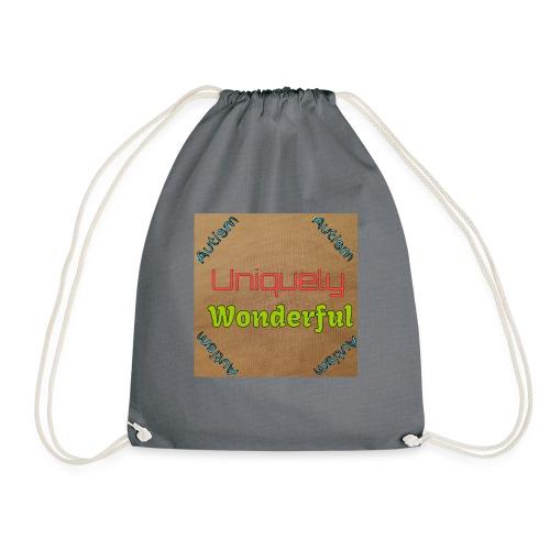 Autism statement - Drawstring Bag