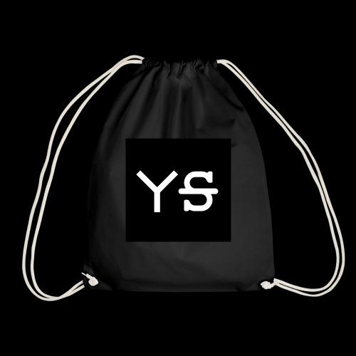 YeetSkeet Letter Logo - Drawstring Bag