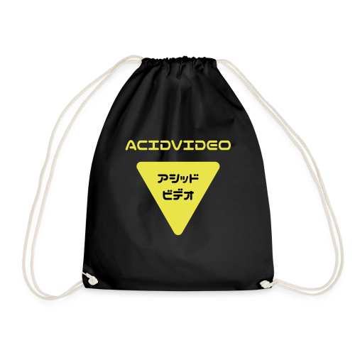 Acidvideo logo - Drawstring Bag