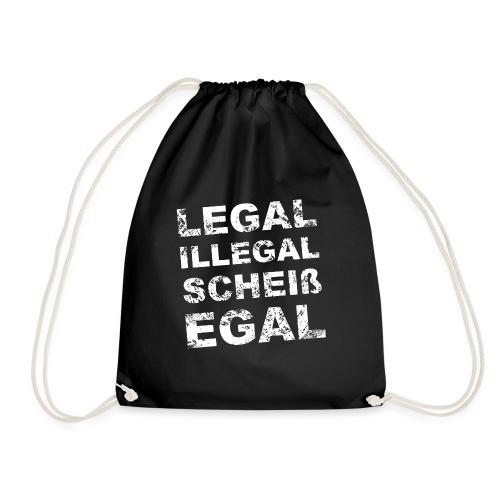 Legal Illegal Scheißegal - Turnbeutel