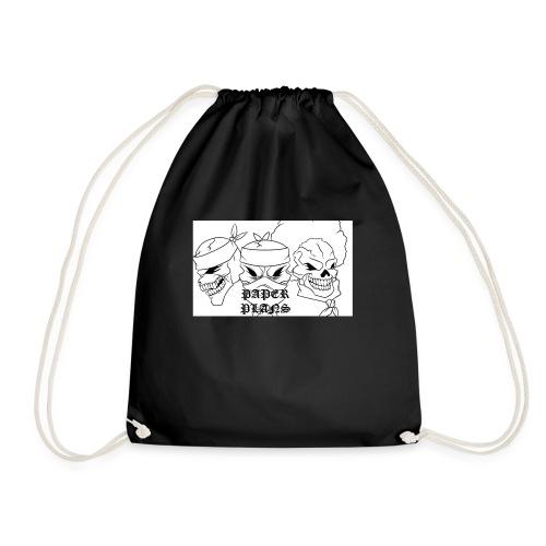 Paper Plans - Drawstring Bag
