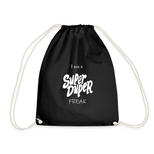 Super Duper Freak White - Turnbeutel