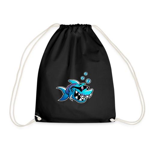 Cool Shark - Drawstring Bag