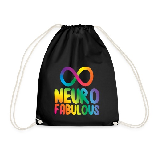 Neurofabulous - Drawstring Bag