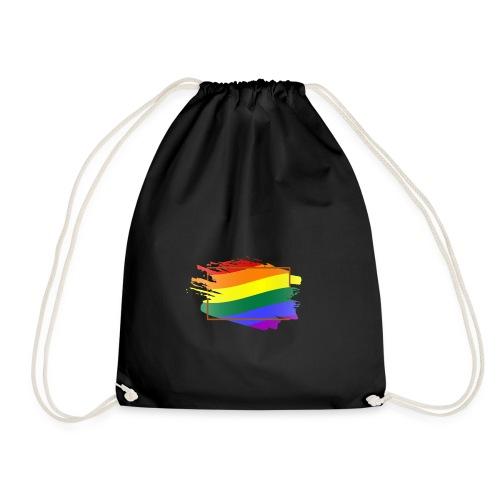 Think Outside the Box - LGBT Pride - Drawstring Bag