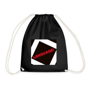 Language - Drawstring Bag