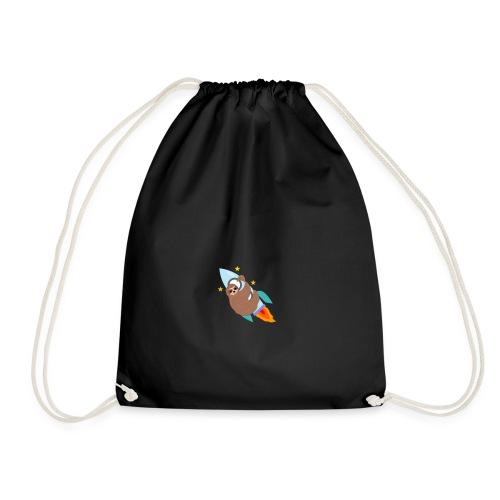 Space Bound Sloth - Drawstring Bag