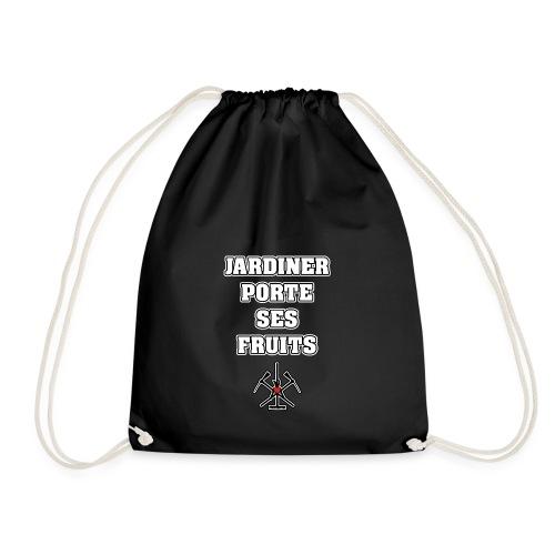 JARDINER PORTE SES FRUITS - JEUX DE MOTS - Sac de sport léger