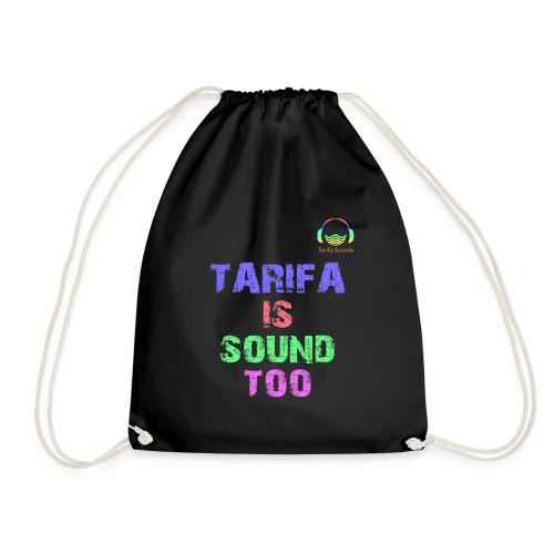 Tarifa tambiés es sonido - Mochila saco