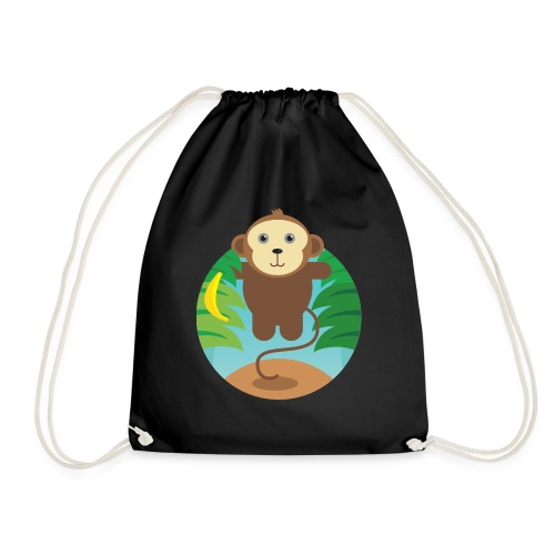 Banana Monkey - Turnbeutel