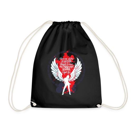 Kabes Guardian Angel T-Shirt - Drawstring Bag