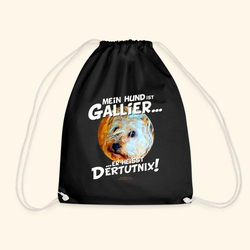 Hunde T-Shirt witziger Spruch für Hundehalter - Turnbeutel