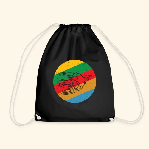 Grenadian Dove Retro - Drawstring Bag