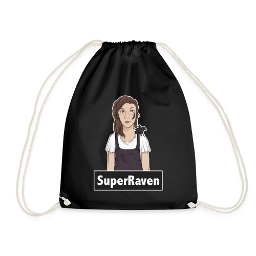 SuperRaven - Drawstring Bag