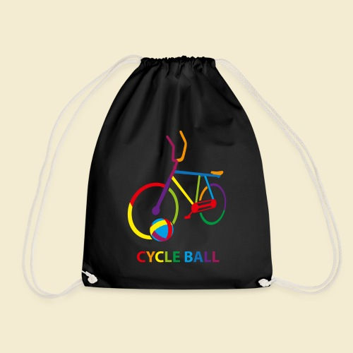 Radball | Cycle Ball Rainbow - Turnbeutel