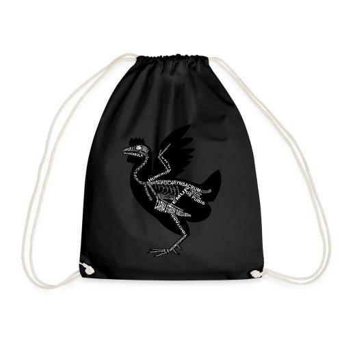 Huhn-Skelett - Drawstring Bag