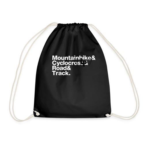 lp slogan white - Drawstring Bag