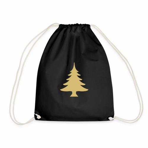 Weihnachtsbaum Christmas Tree Gold - Gymnastikpåse
